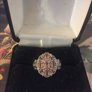 Pink Tourmaline Ring sz 7
